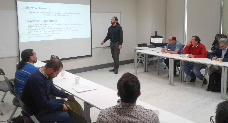 Segunda Reunión del grupo técnico Sophora toromiro Chile en la Universidad Mayor