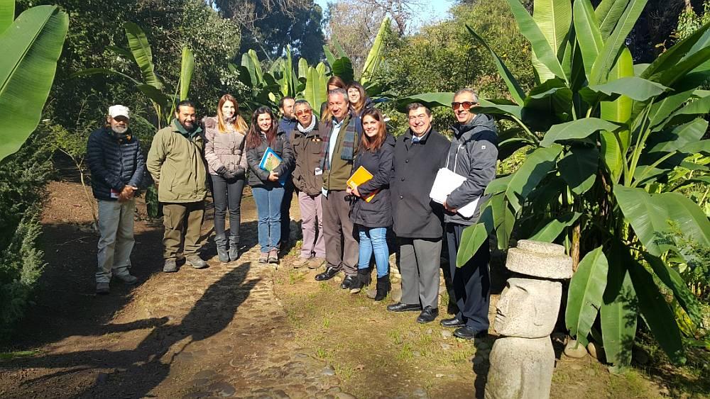 Primera Reunión del grupo técnico Sophora toromiro Chile en el Jardín Botánico Nacional